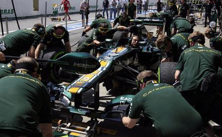 Caterham podría seguir usando el mismo chasis de cara a la temporada 2013