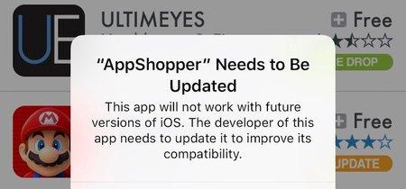 La beta de iOS 10.3 avisa a los desarrolladores: las aplicaciones de 32 bits dejarán de ser compatibles