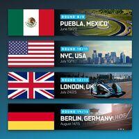 La Fórmula E regresa a México en 2021: el Autódromo Miguel E. Abed en Puebla será la sede