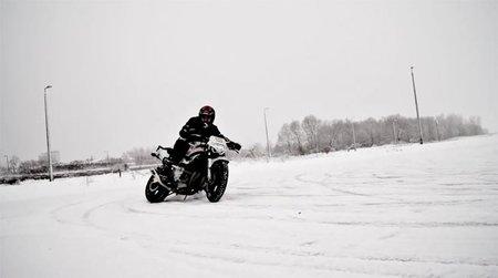 El invierno no acaba con la afición a las dos ruedas