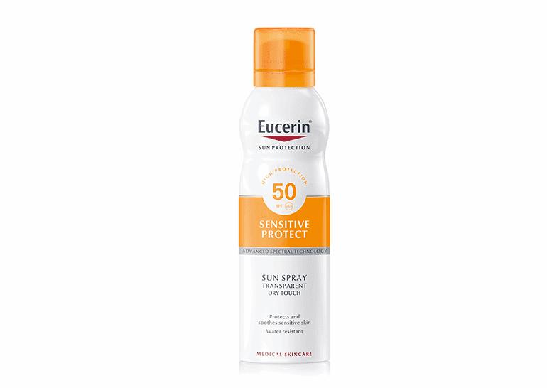 Eucerin Solar Corporal Dry Spray Transparente SPF 50 200ml