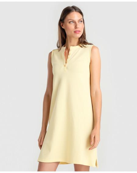 Vestido Amarillo Polo Unit Moda Hipercor