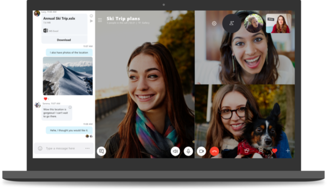 Skype Version 8 Blog 768x445