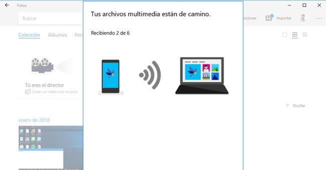 Así funciona Photos Companion, la app de Microsoft para enviar tus fotos a Windows