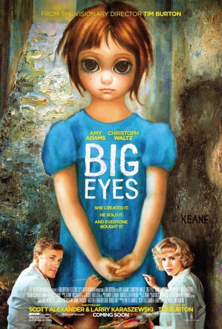 Carteles de 'Big Eyes'