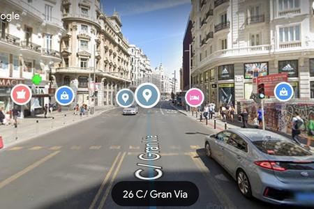"""Google Maps mejora Street View con información de lugares con """"realidad aumentada"""""""
