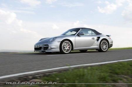 Porsche 911 Turbo Cabrio, prueba (exterior e interior)