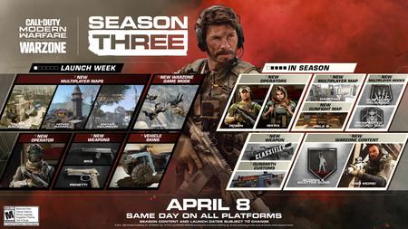 COD Modern Warfare Temporada 3