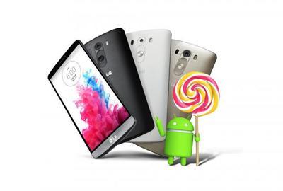 LG G3 comienza a recibir Android Lollipop