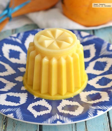 Gelatina de mango. Receta sencilla para el calor