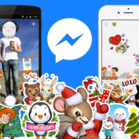 Llegan los stickers y Photo Magic en Facebook Messenger por Navidad, pero no para todos