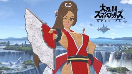Así es como los fans de SNK están recreando a Mai Shiranui en Super Smash Bros. Ultimate