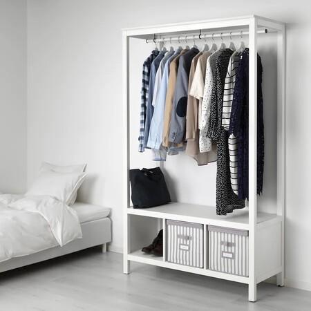8 zapateros, armarios abiertos y burros para ropa de Ikea para afrontar el cambio de armario
