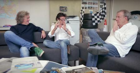 Clarkson, Hammond y May buscan nombre para su nuevo programa ¿Cuál es tu Sugerencia?