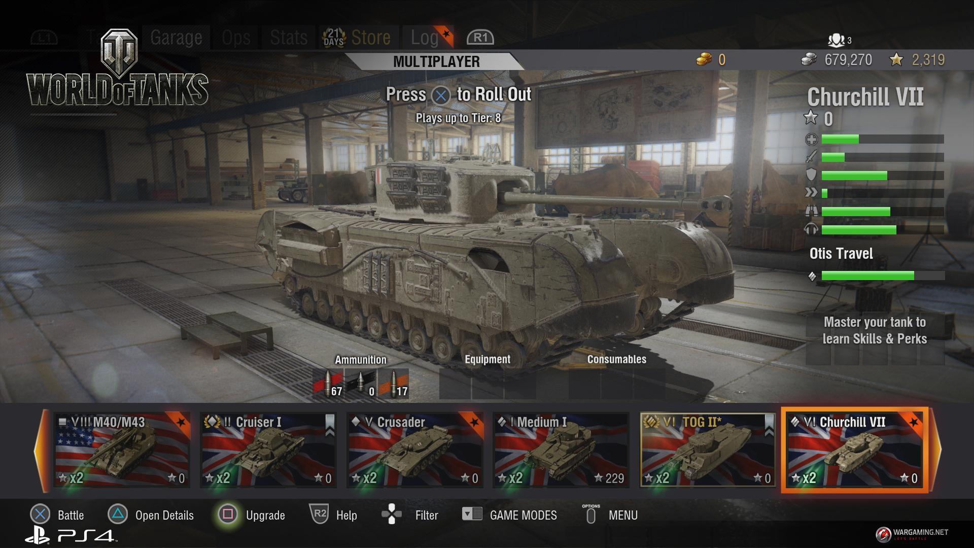 Foto de World of Tanks PS4 (1/2)