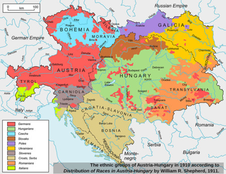 Alemanes En Europa 1910