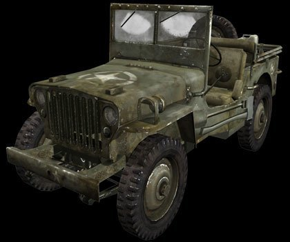 Jeep en el Medal of Honor Airborne