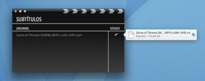 Subtitles, descarga los subtítulos de tus series y películas automáticamente