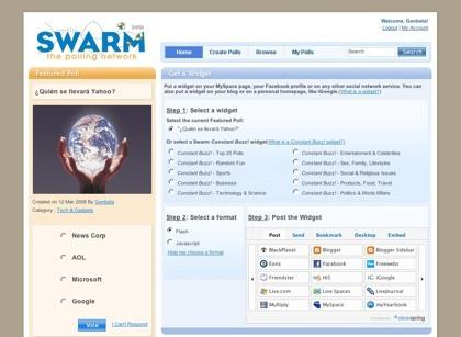 Swarmpolls, generando encuestas online de forma sencilla