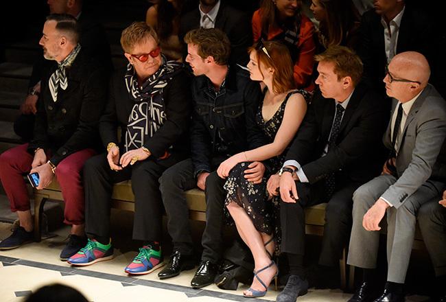 Foto de Los Beckham al completo, Chiara Ferragni, Cara Delevingne... en la fiesta del año de Burberry (12/33)