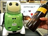 Robo-sommelier  NEC System Technologies