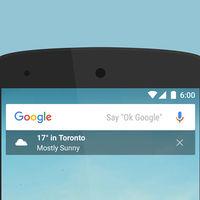 Google para Android permite mostrar tu feed directamente en el widget de su buscador