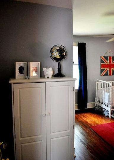 Foto de Un dormitorio infantil de inspiración británica (4/5)