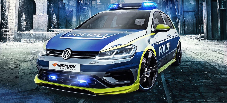 Foto de Polizei Golf creado por Oettinger y Hankook (1/13)