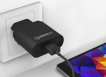 Qualcomm Quick Charge 20 Cargador