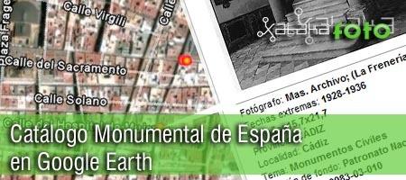 Catálogo Monumental de España en Google Earth