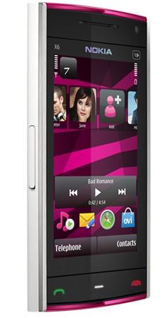 Nokia X6 16GB, presentado oficialmente