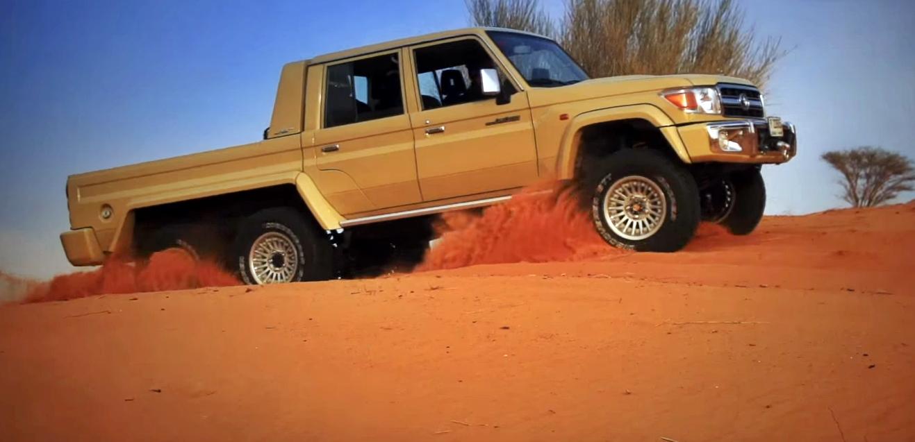 Este Es El Toyota Land Cruiser Del Desierto Que No Teme Al