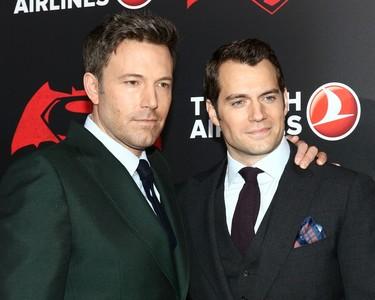 Estreno de Batman V Superman: ¿se extienda la rivalidad al estilo de Ben Affleck y Henry Cavill?