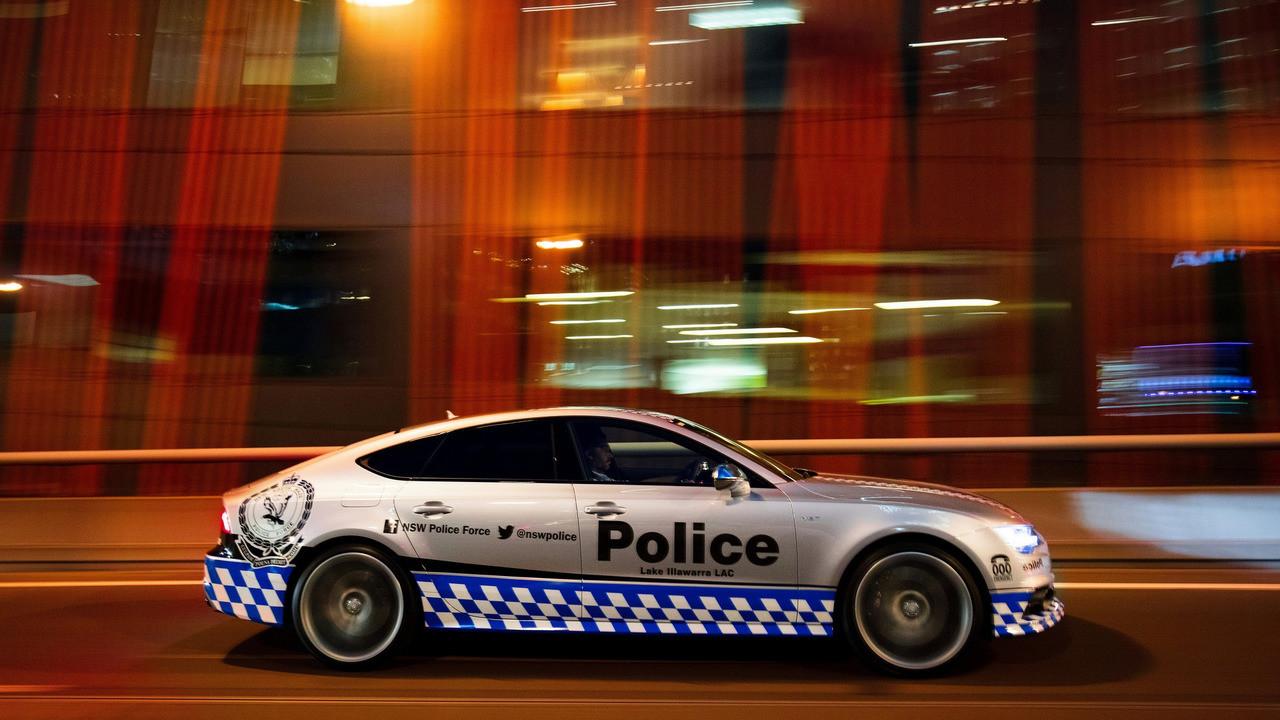 Audi S7 Sportback Policía Australia