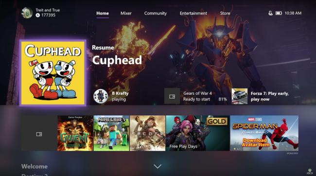 Xbox One Fall