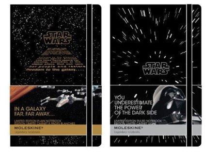Moleskine edición limitada Star Wars