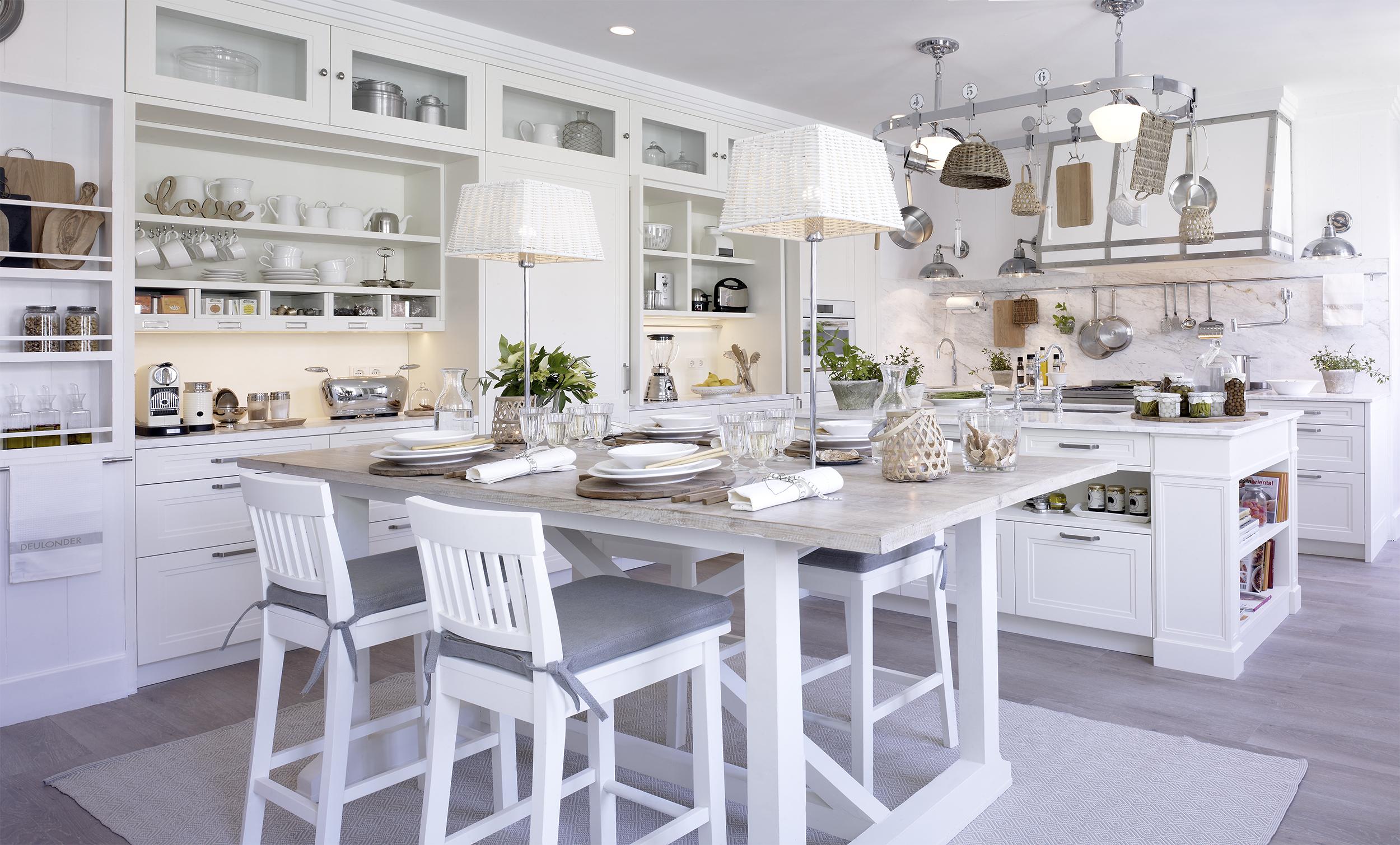 La cocina como family room de deulonder favorita del for Cocinas en hiraoka 2016