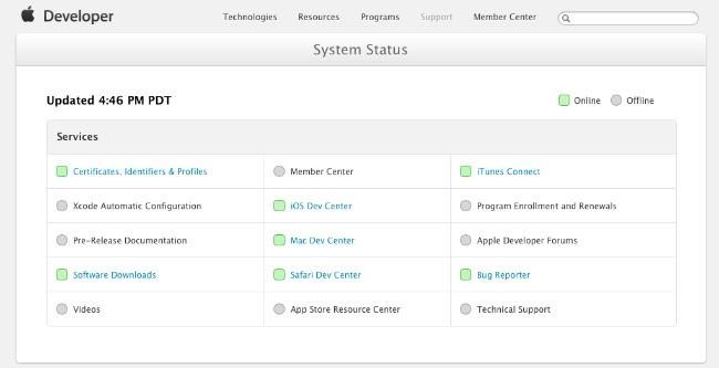 Apple Dev Center