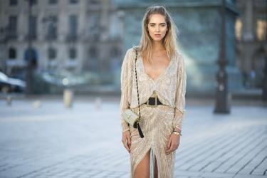 ¿Quieres ser una novia realmente especial? Elige este vestido de Roberto Cavalli que Chiara Ferragni nos ha descubierto en Paris