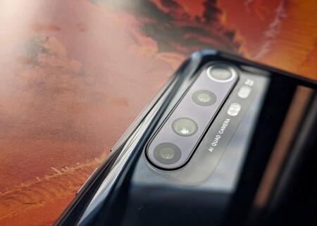Camara Mi Note 10 Lite