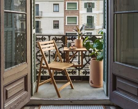 8 conjuntos minis para terrazas o balcones pequeños