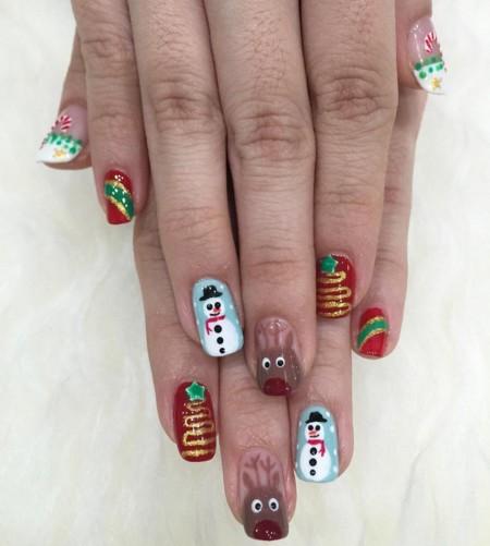 Nail Art Christmas 4