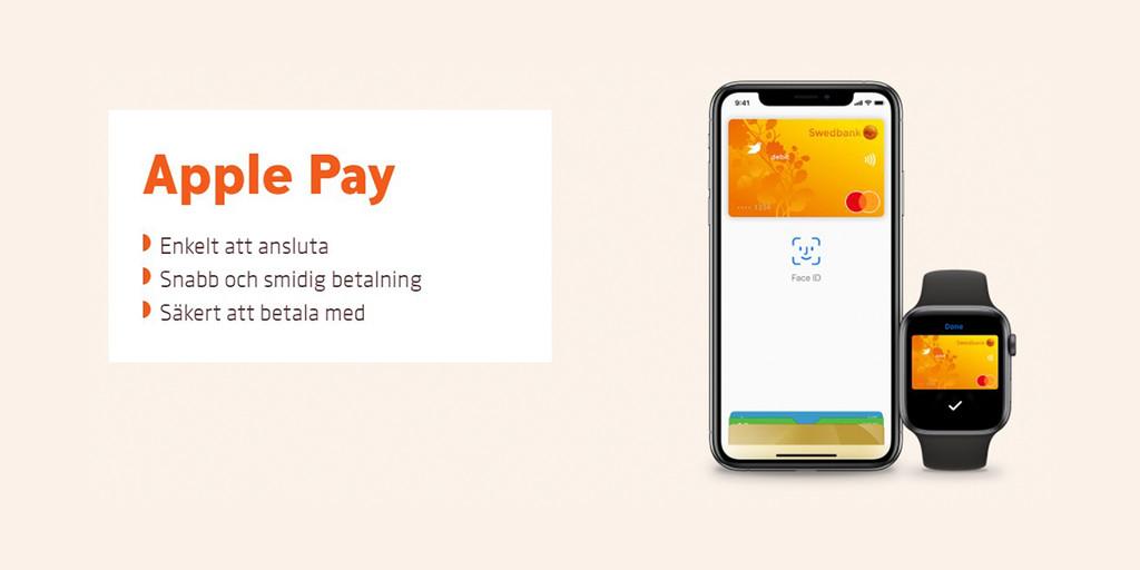 Swedbank, uno de los bancos más importantes de Suecia, ya dispone de Apple Pay