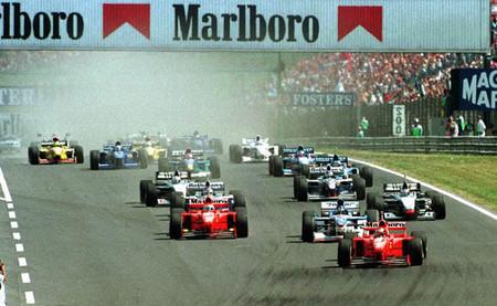 Salida GP Hungría 1997