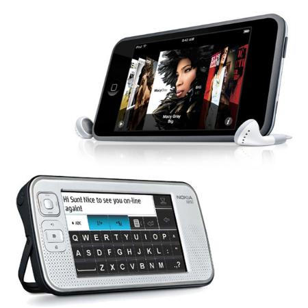 iPod Touch frente al Nokia N800