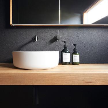 Los baños sin azulejos; opciones, ventajas y desventajas de una de las tendencias más vistas este 2019