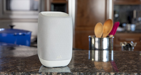 Polk Assist Google Speaker Lifestyle Kitchen 2