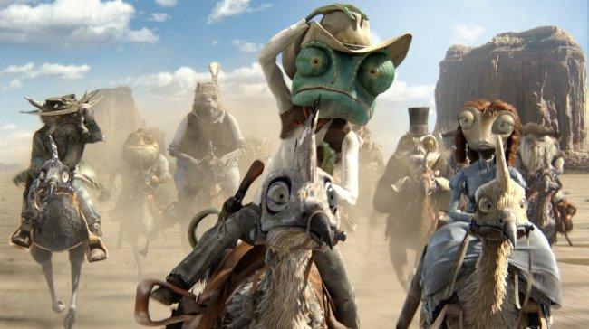 'Rango' es una de las mejores películas estrenadas en España en el 2011
