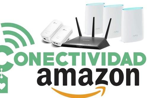 Ofertas del día y flash en conectividad en la Amazon Gaming Week: routers, sistemas WiFi en malla o extensores de red de TP-Link, Netgear o ASUS a precios bajos