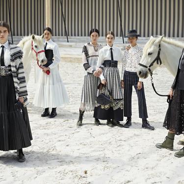 Dior Crucero 2019: un desfile bohemio y ecuestre con el que Maria Grazia Chiuri nos ha vuelto a enamorar